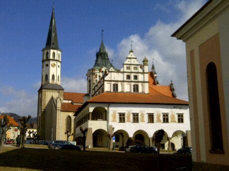 Levoča w Prešovský kraj