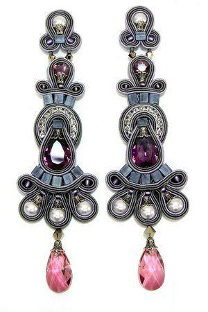 Dori Csengeri Raphsody Large Clip Earrings
