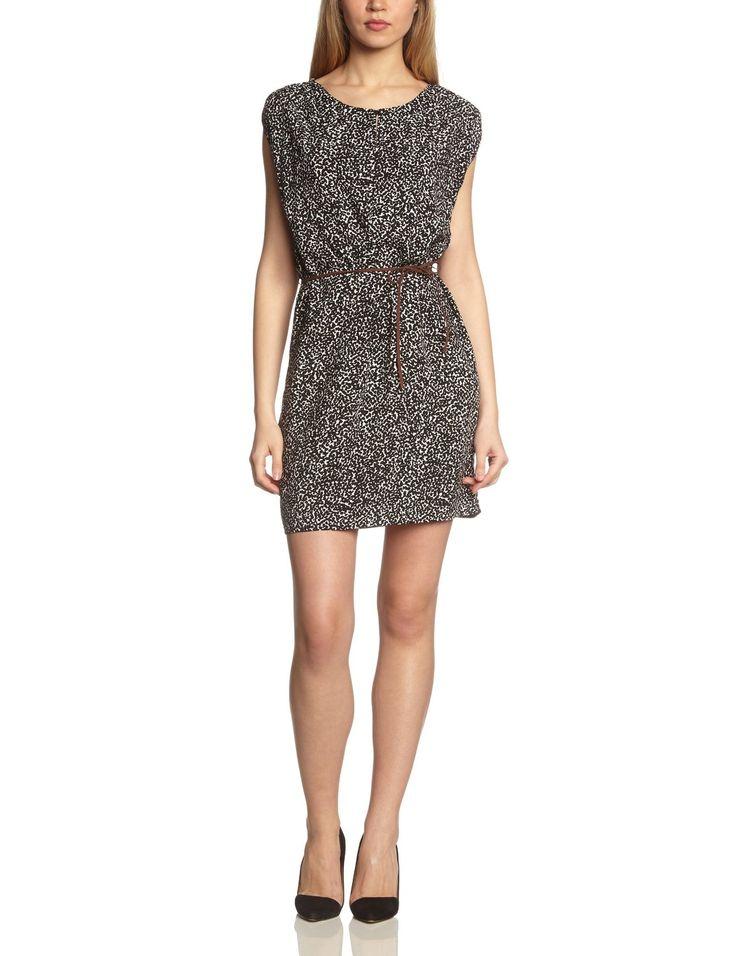 VERO MODA Damen Cocktail Kleid AMANDA S/L SHORT DRESS MIX IT: Amazon.de: Bekleidung