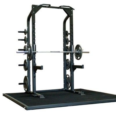 This Champion half #rack is built to withstand demanding use. Its ideal for high #school #gyms, #commercial gyms, or even #home use. The Champion Half Rack is the way to #teach #athletes to #train #safely. It provides safety for #weightlifters and helps to eliminate injuries.