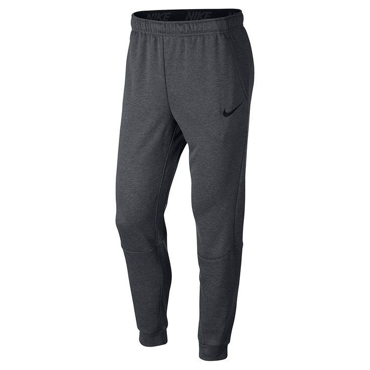 Men's Nike Dri-Fit Tapered-Leg Fleece Pants, Grey Other