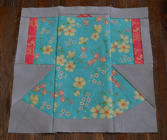 Kimono Paper Pieced By Ms Midge Via Flickr Japanese