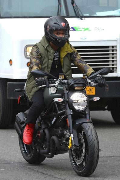 Usher buys a new Ducati