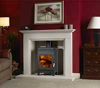 Burley Stove:Holywell 9105 stove buy now at Boston heating for lowest UK prices!
