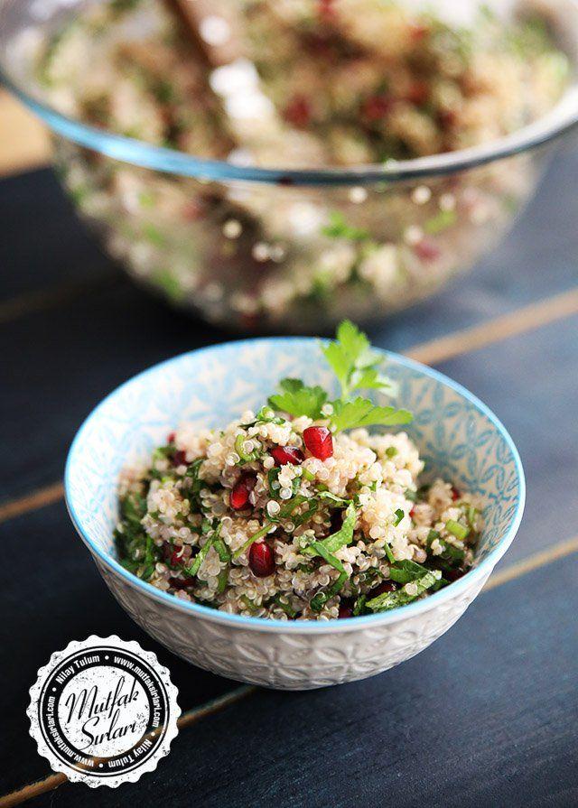 Narlı Kinoa Salatası - Tarifin püf noktaları, binlerce yemek tarifi ve daha fazlası...