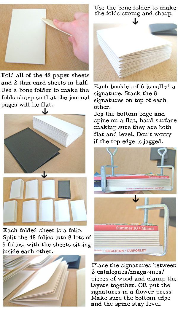 How To Make A Book Cover Binding ~ Best images about book binding tutorials on pinterest