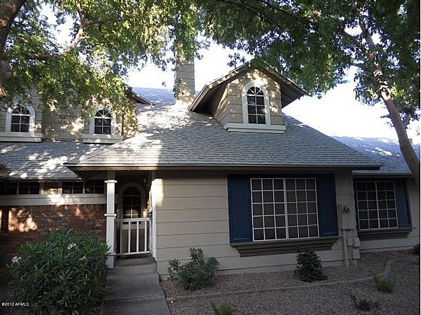 Cape Cod style 3 bedroom - 2.5 bathroom townhome in established community of Castle Rock. Townhome has largest floorplan of the community. Greatroom includes living and dining area with fireplace. Masterbedroom is on first floor with full bathroom. Back patio area is fenced in, has covered area and storage shed. Community pool is heated. #zillow