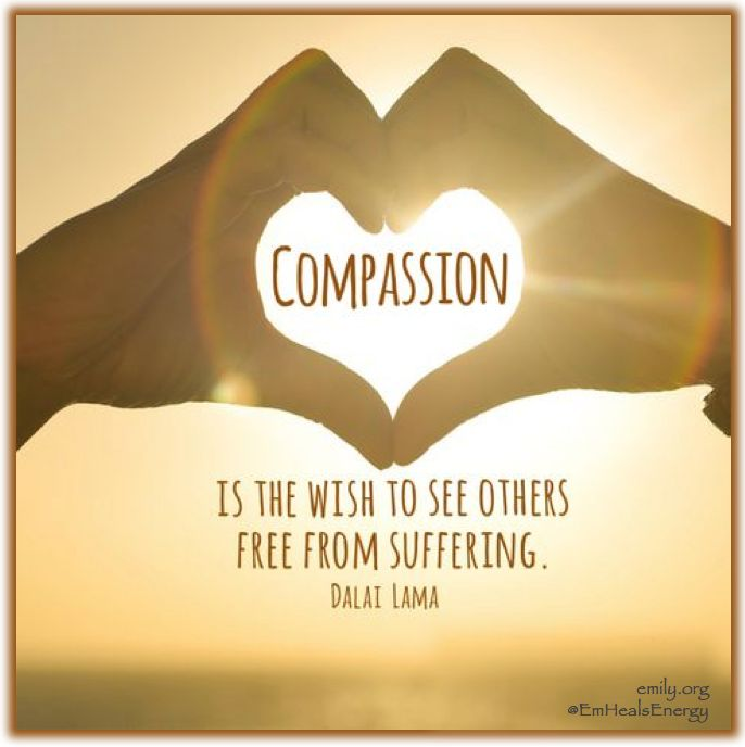 Compassion is humanity - a life essential 💛