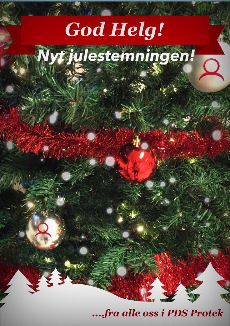 Vi ønsker alle en god helg! Nyt julestemningen!