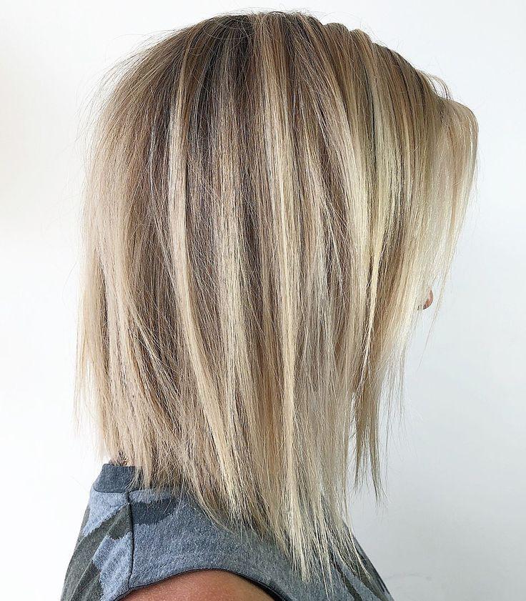 70 Perfekte Mittellange Frisuren Fur Dunnes Haar In 2020 Frisuren Dunnes Haar Haarschnitt Ideen Mittellange Haare Frisuren Einfach