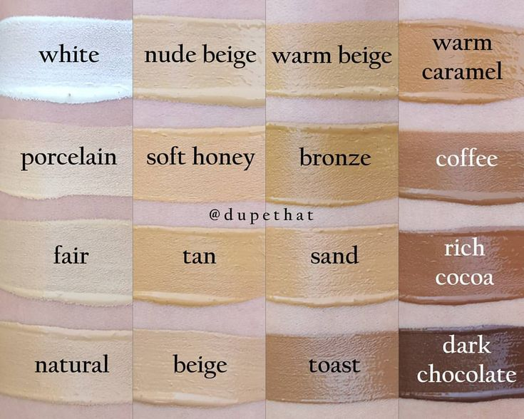29 Best Images About Complexion Foundation Swatches On