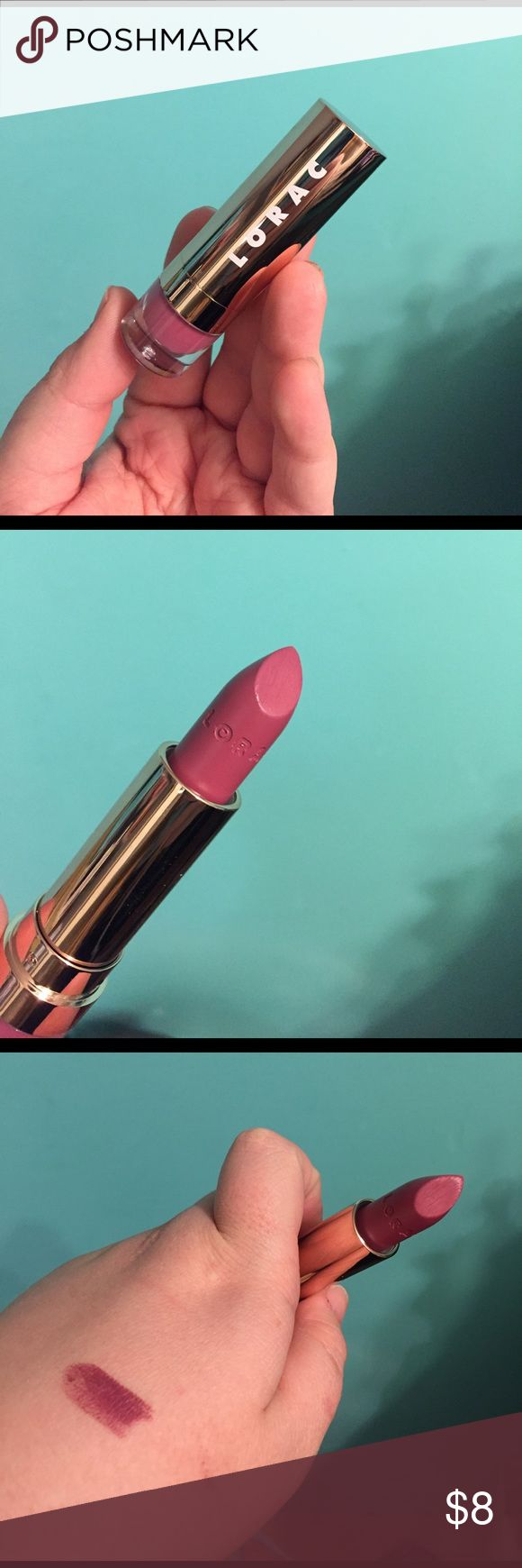 Lorac Alter Ego Lipstick in Stylist Lorac Alter Ego Lipstick in Stylist. New, only used for swatch. No box. Lorac Makeup Lipstick