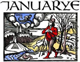 January, from The Works of Edmund Spenser, Volume I, by Renwick, Professer W. L.
