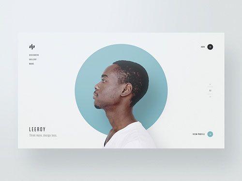 Dribbble 2 月份的熱門 UI 設計作品 - 掘金