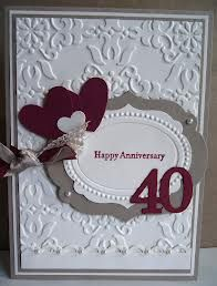 Stampin up wedding anniversary cards - Google Search
