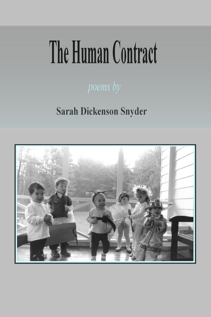 A Book Review of The Human Contract by Sarah Dickenson Snyder
