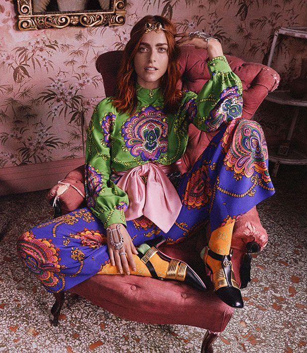 Рекламная кампания Gucci (Интернет-журнал ETODAY)