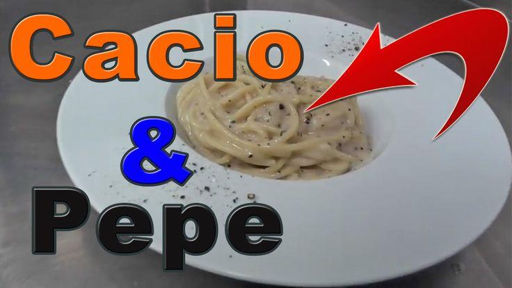 Ricetta Pasta Cacio e Pepe Video Tutorial