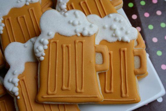 Beer Mug Beer Themed cookies