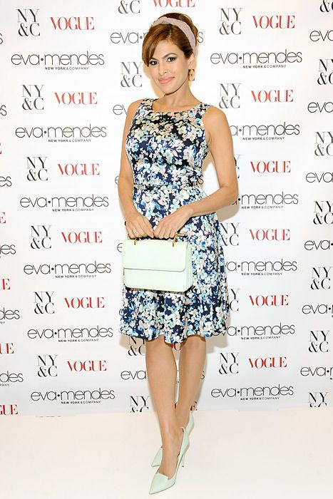 Eva Mendes at the Eva Mendes For New York & Company Spring Launch March '14