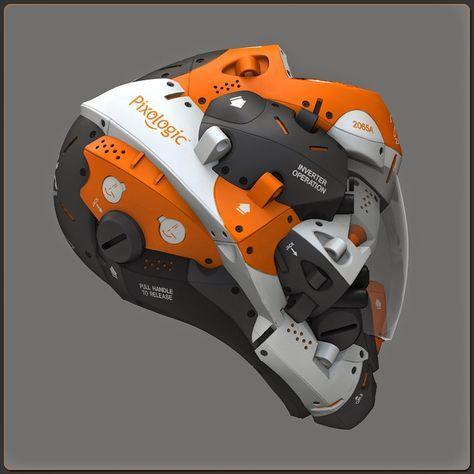 Zbrush tutorial: Helmet Design with Joseph Drust | CG Tutorials library
