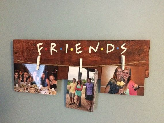 Friends tv show picture hanger