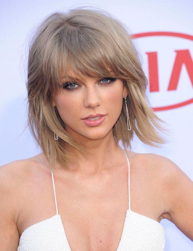 Con flequillo y capas, el corte de Taylor Swift está destinado a convertirse en el nuevo 'bob'.