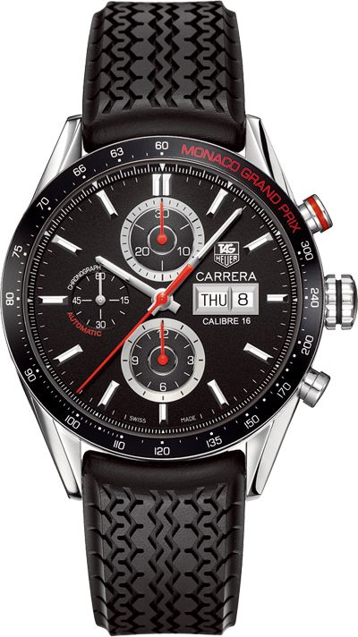 Tag Heuer Monaco Grand Prix Carrera Calibre 16.        http://www.maier.fr/montres-prestige/montre-collection-horlogerie-luxe?post-home=&marques%5B%5D=6