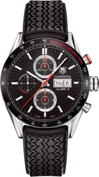 Tag Heuer Monaco Grand Prix Carrera Calibre 16. http://www.maier.fr/montres-prestige/montre-collection-horlogerie-luxe?post-home=&marques%5B%5D=6
