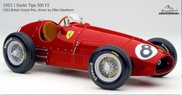 exoto 1 18 ferrari 1953 tipo 500 f2 8 mike hawthorn diecast envy f1 pinterest. Black Bedroom Furniture Sets. Home Design Ideas
