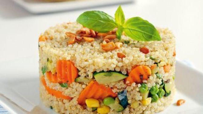 Zeleninové rizoto s quinoou