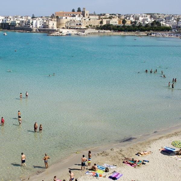 Otranto beach Puglia Italy