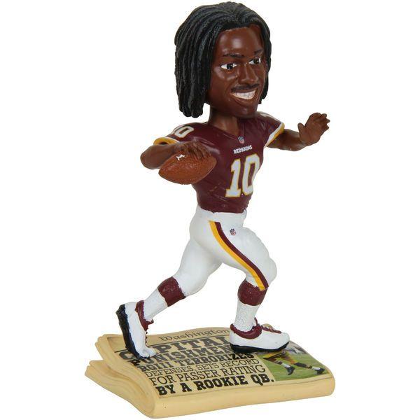 Robert Griffin III Washington Redskins Newspaper Base Bobblehead Figurine - $14.99