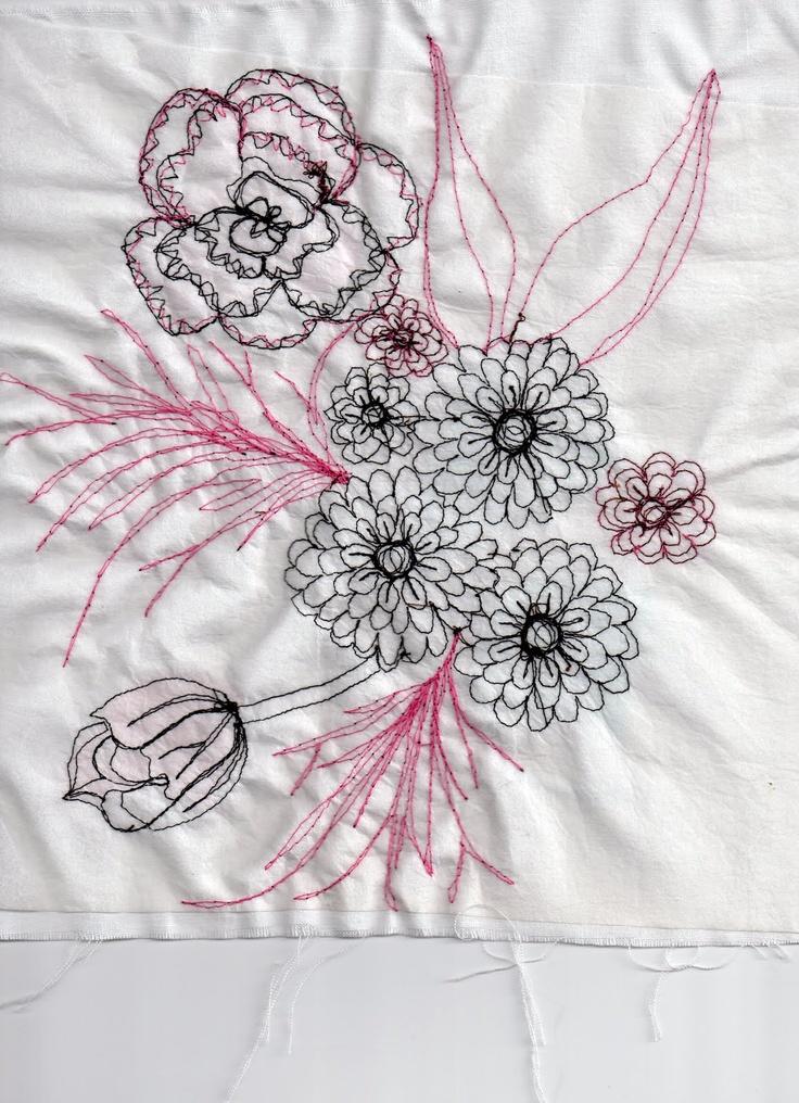 Emma Elizabeth Clease: Free Machine Embroidery / back