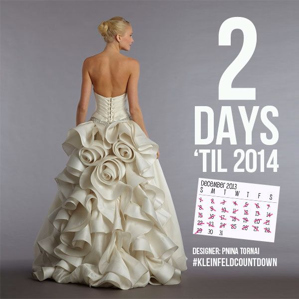 Wedding dress with roses on back