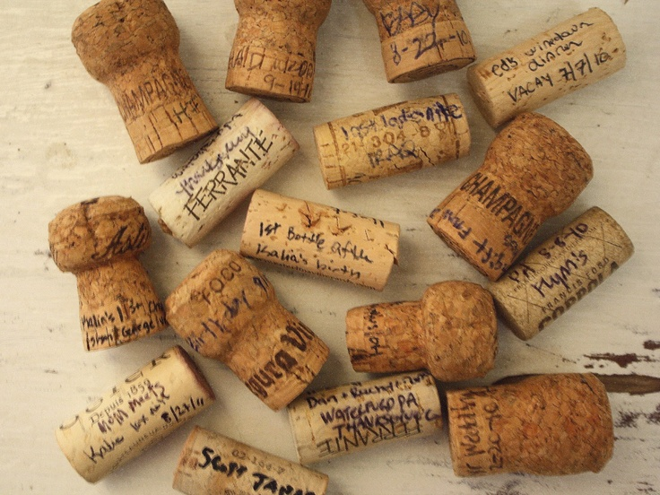 Write date, details & memory on the wine cork & save for decor!: Reuse Wine, Wine Corks, Idea, Re Use Wine, Corks Memories, Bottles Cans Corks Jars, Wine Champagne Corks, Cork Memories
