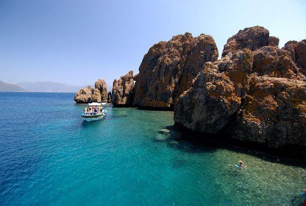 South Dodecanese, Dirsekbuku, private boat rental, www.barbarosyachting.com