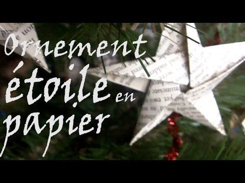 Diy Tuto : Etoile en Papier - Origami - YouTube