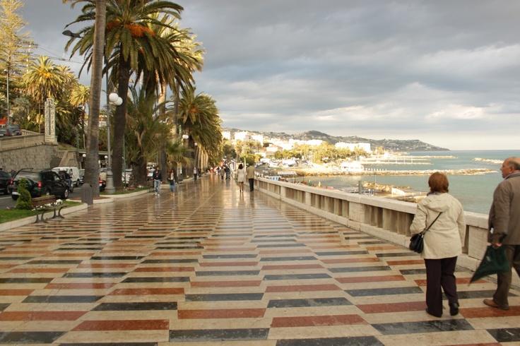 Corso Imperatrice, Sanremo