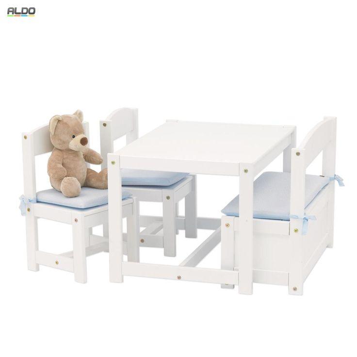 Výsledok vyhľadávania obrázkov pre dopyt detský nábytok stôl stoličky biely