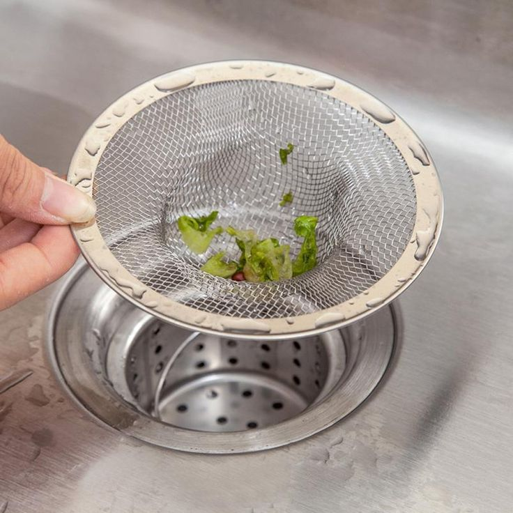 Kitchen Sink Strainers Stainless Steel Basket Drain