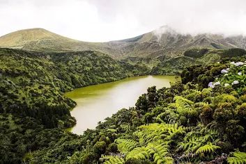 Lagoa Funda [Reserva Natural da Caldeira Funda e Rasa] - Lajes, Ilha das Flores, Açores