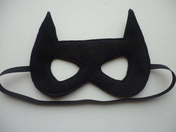 This mask made of felt with one piece of felt as the back to make sure it doesnt scratch. Elastic is stitched at both sides to keep it in place when