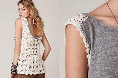 Crochetemoda ♪ ♪ ... #inspiration #crochet #knit #diy GB http://www.pinterest.com/gigibrazil/boards/