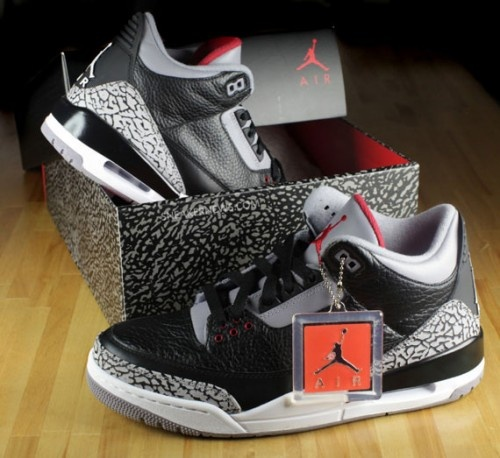 Air Jordan 3 Black/Cement 2011 Retro – New Pics