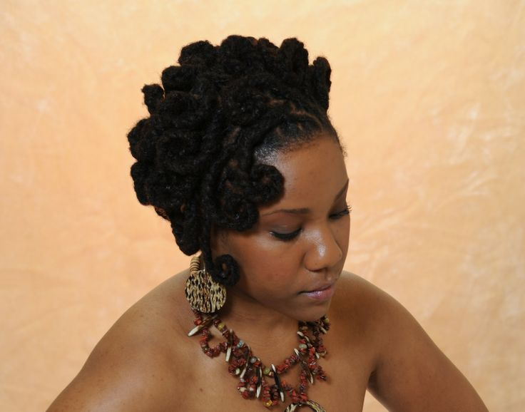 Female Dreads Hairstyles Entrancing 109 Best Locs Goddess Images On Pinterest  Natural Hairstyles