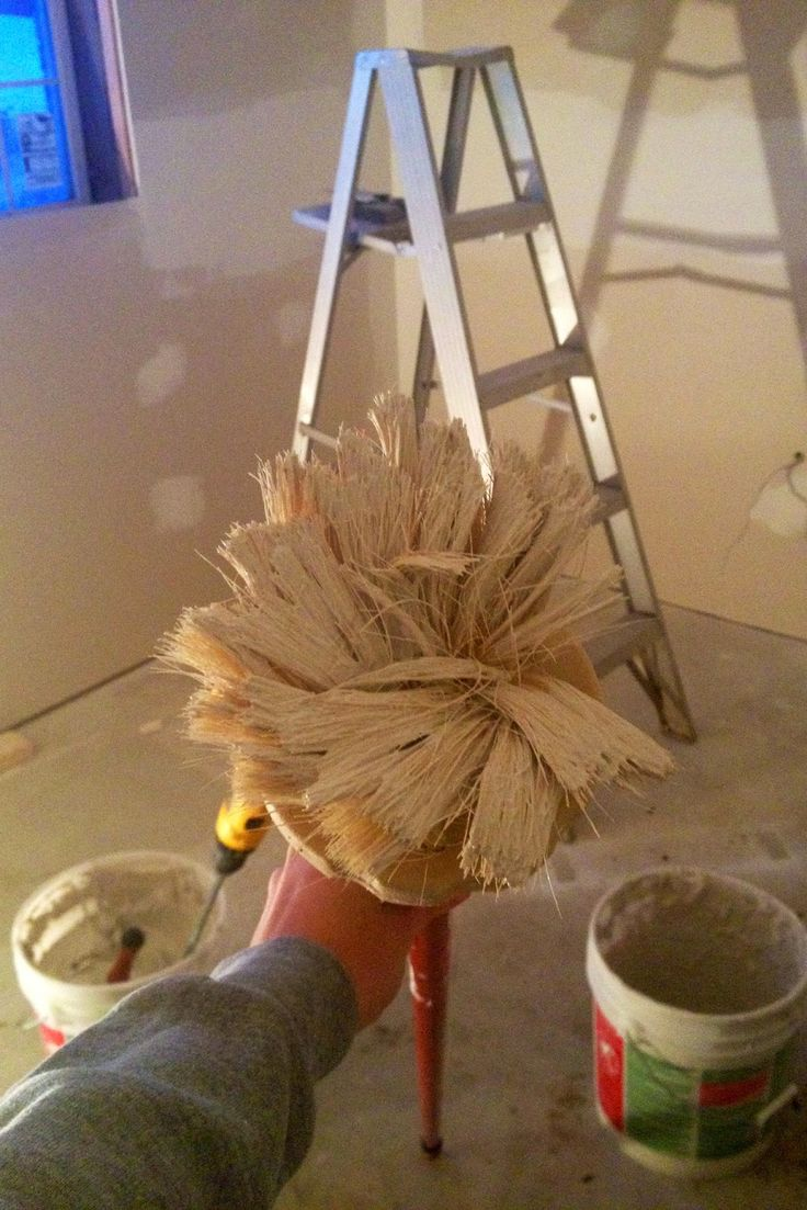 DIY Why Spend More: How to texture a ceiling (cheaply and easily)