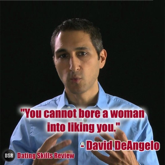 Online dating tips david deangelo