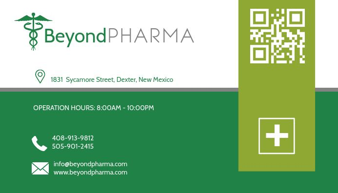 Green Health Business Card Design Template Postermywall Medical Business Card Health Business Health Insurance Humor