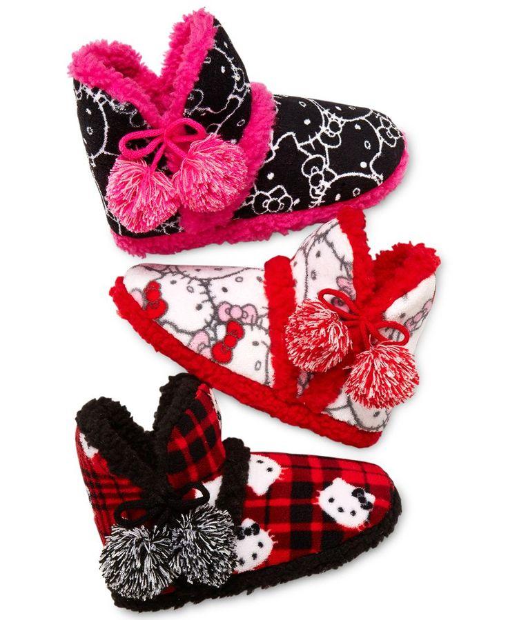 Hello Kitty Printed Plush Boot